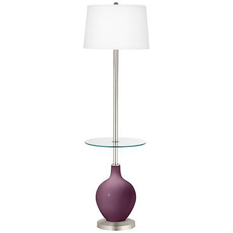 Grape Harvest Ovo Tray Table Floor Lamp