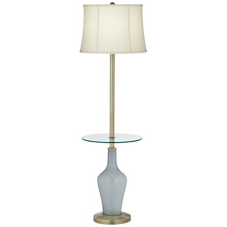 Uncertain Gray Anya Tray Table Floor Lamp