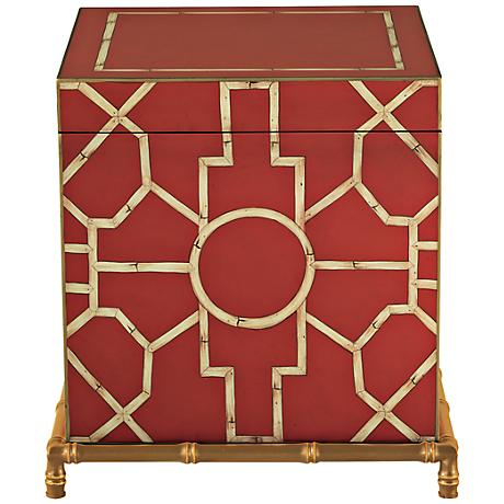 Port 68 Baldwin Red Trunk
