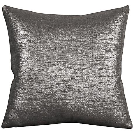 "Howard Elliott Glam 20"" Zinc Throw Pillow"