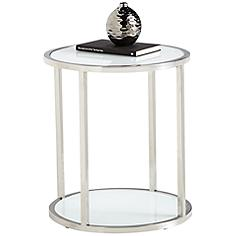 Zane Round End Table