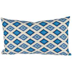 "Kite Blue 20"" Lumbar Pillow"