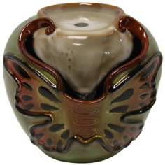 Butterfly Ceramic Tabletop Fountain