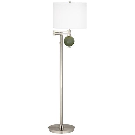 Secret Garden Niko Swing Arm Floor Lamp