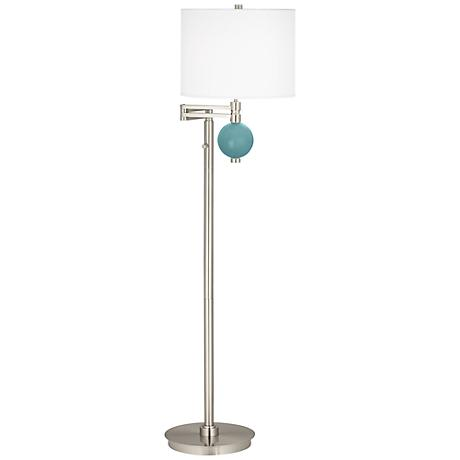 Reflecting Pool Niko Swing Arm Floor Lamp