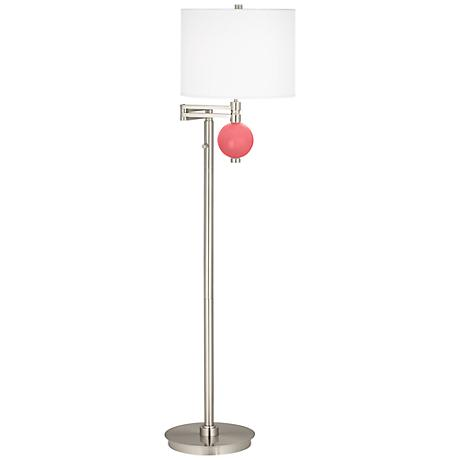 Rose Niko Swing Arm Floor Lamp