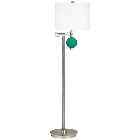 Leaf Niko Swing Arm Floor Lamp
