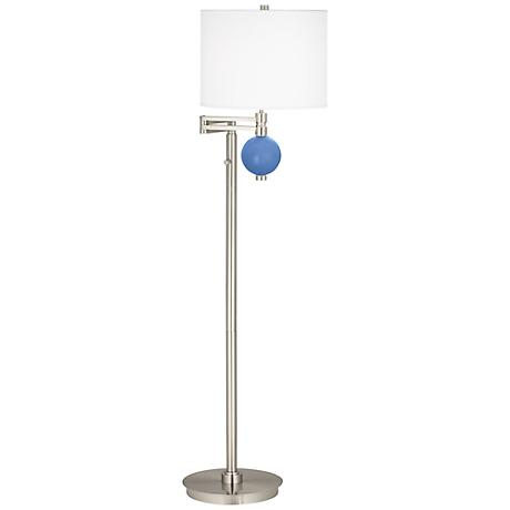 Dazzle Niko Swing Arm Floor Lamp