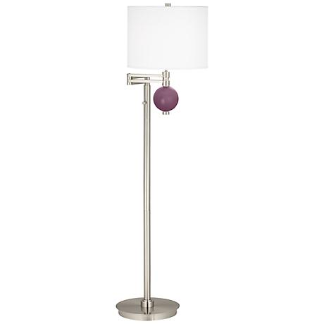 Grape Harvest Niko Swing Arm Floor Lamp