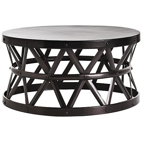 Arteriors Home Stanley Costello Bronze Cocktail Table