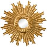 "Padrone Gold 25"" Round Wall Mirror"