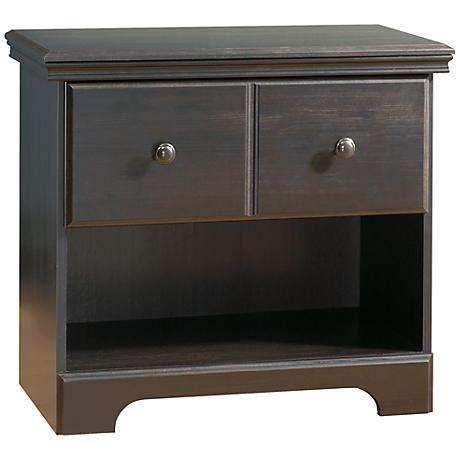 Mountain Lodge Collection Ebony Night Stand