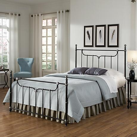 Merrill Iced Black Bed