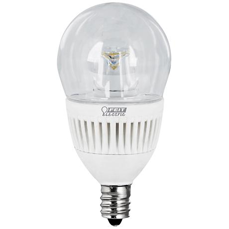 15 Watt Warm White LED Candelabra Base Light Bulb