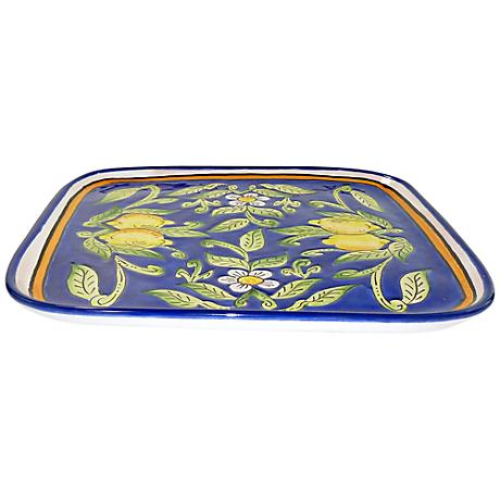 Le Souk Ceramique Citronique Design Square Platter