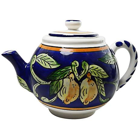 Le Souk Ceramique Citronique Design Teapot