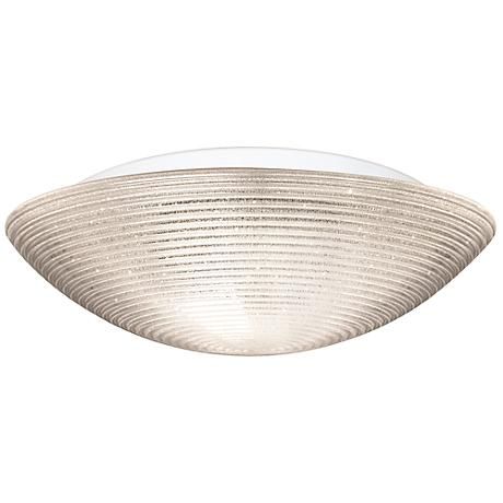 "Besa Glitter 18"" Wide Glitter Ceiling Light"