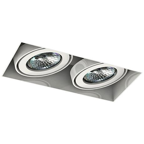 Eurofase Low Voltage White Double Recessed Light