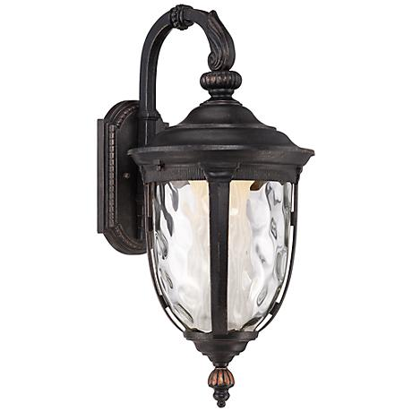 "Bellagio™ 20 1/2""H LED Veranda Bronze Outdoor Wall Light"
