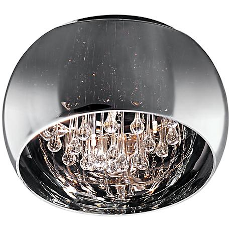 "ET2 Sense 15 3/4"" Wide Polished Chrome Ceiling Light"