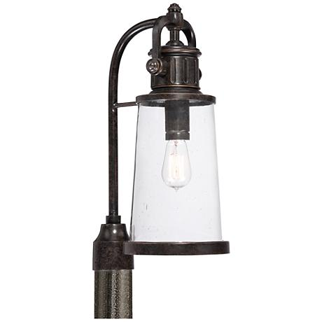 "Quoizel Steadman 20 1/2"" High Large Outdoor Post Light"