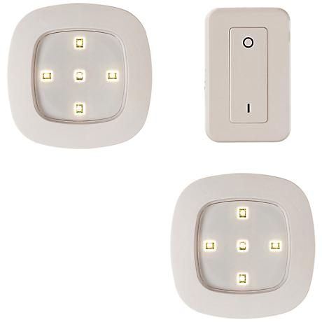 Fulcrum Ultra White Remote Control LED Night Light System