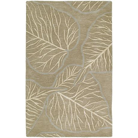 Kaleen Astronomy 3405-40 Newton Chocolate Wool Area Rug