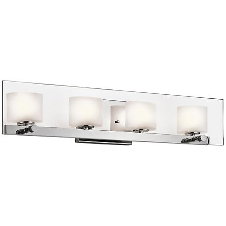 "Kichler Como 27 3/4"" Wide Polished Chrome Bath Light"