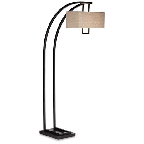 Aiden Place Oil Rubbed Bronze Arc Floor Lamp