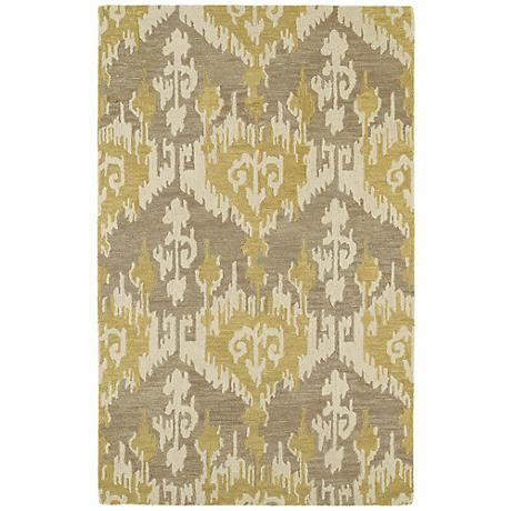 Kaleen Casual 5055-68 Sigmon Graphite Wool Area Rug