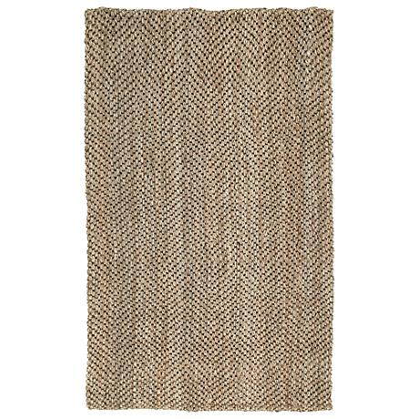 Kaleen Essential 8504-44 Herringbone Natural Jute Rug