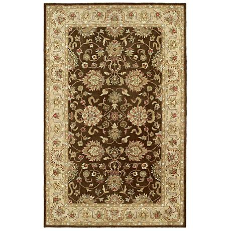 Kaleen Heirloom 8804-49 Melanie Brown Area Rug