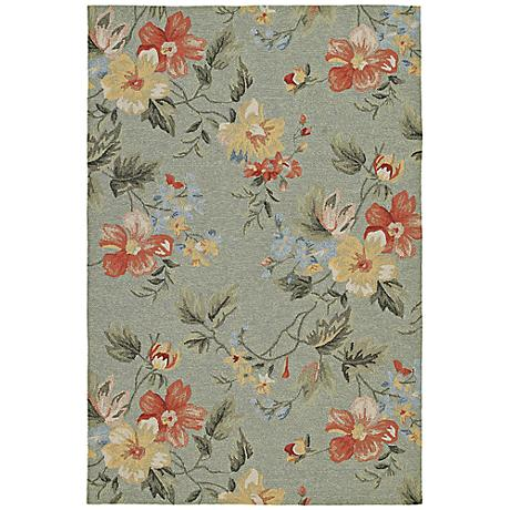 Kaleen Home & Porch 2016-17 Saint Julian Blue Rug