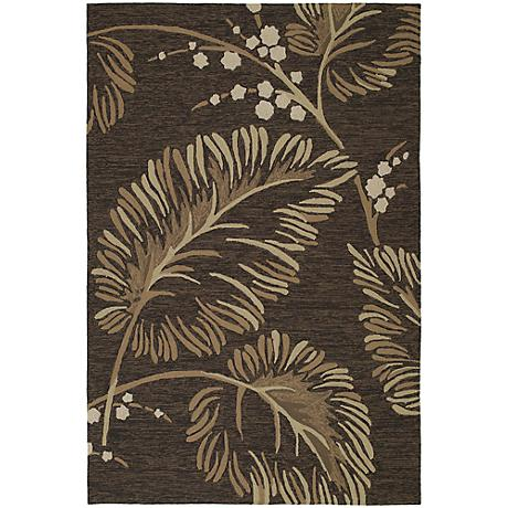 Kaleen Home & Porch 2025-40 Palmyra Chocolate Rug