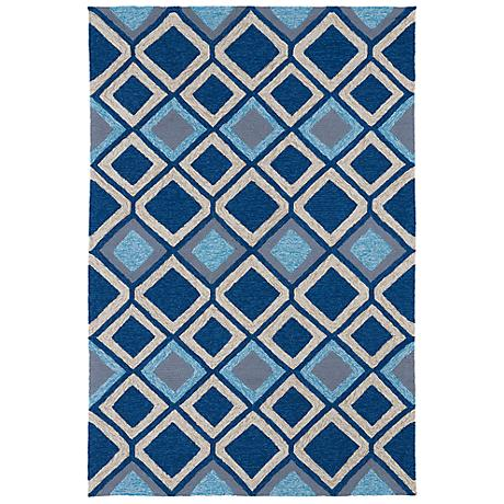 Kaleen Home & Porch 2033-17 Blue Diamond Rug