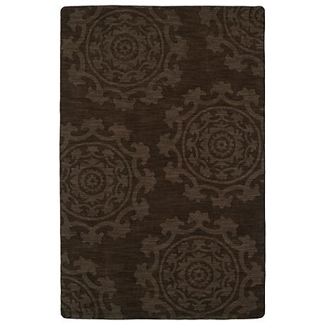 Kaleen Imprints Classic IPC01-40 Chocolate Rug