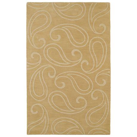 Kaleen Imprints Classic IPC05-28 Yellow Area Rug
