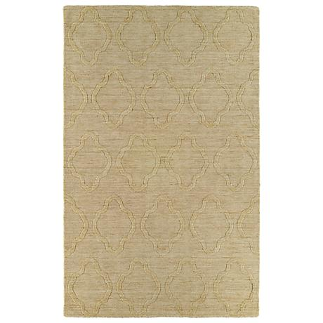 Kaleen Imprints Modern IPM02-28 Yellow Area Rug