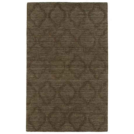 Kaleen Imprints Modern IPM02-40 Chocolate Rug