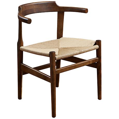Ranger Mod Walnut Accent Chair