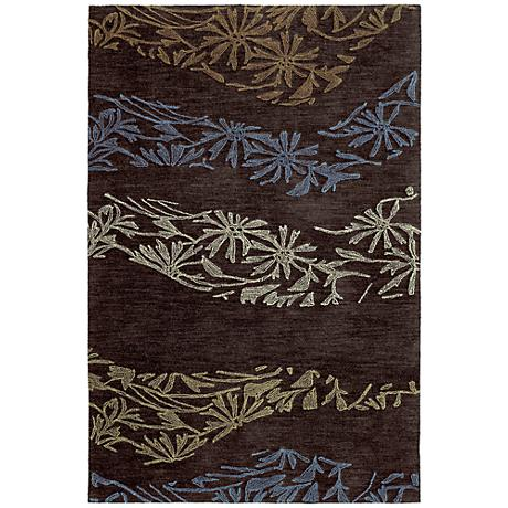 Kaleen Inspire 6401-40 Accolade Chocolate Area Rug