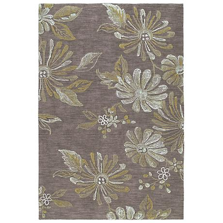 Kaleen Inspire 6402-49 Marvel Brown Area Rug
