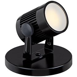 "Downey 2 3/4"" High LED Mini-Uplight in Black"