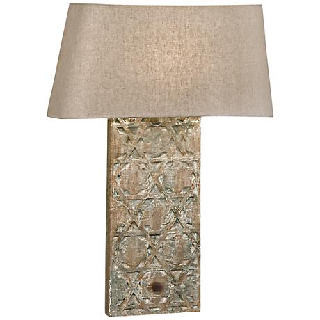 "Regina-Andrew Artifact 20"" Oatmeal Wall Sconce"