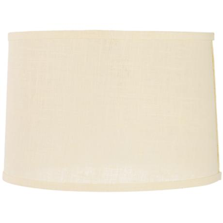 Grey Burlap Lamp Shade Cream Burlap Drum Lamp Shade