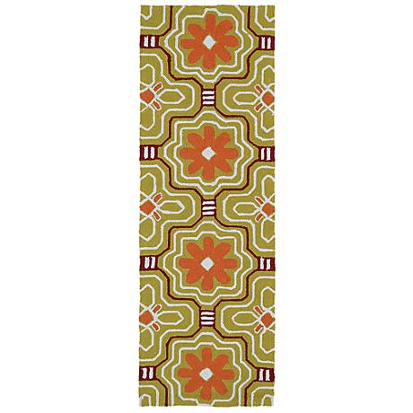 Kaleen Matira MAT02-05 Gold Indoor-Outdoor Rug