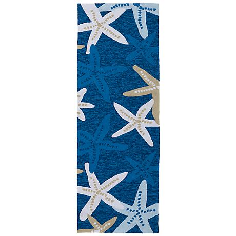 Kaleen Matira MAT04-17 Blue Indoor/Outdoor Rug