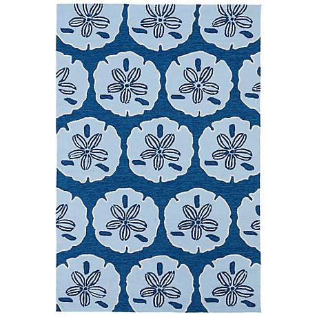 Kaleen Matira MAT06-17 Blue Indoor/Outdoor Rug