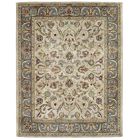 Kaleen Mystic 6001-01 William Ivory Wool Area Rug
