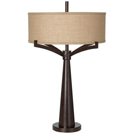 Tremont Bronze Iron Table Lamp 4t410 Lampsplus Com